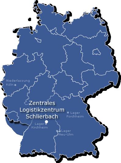 Standorte In Deutschland Europalogistik Zeh
